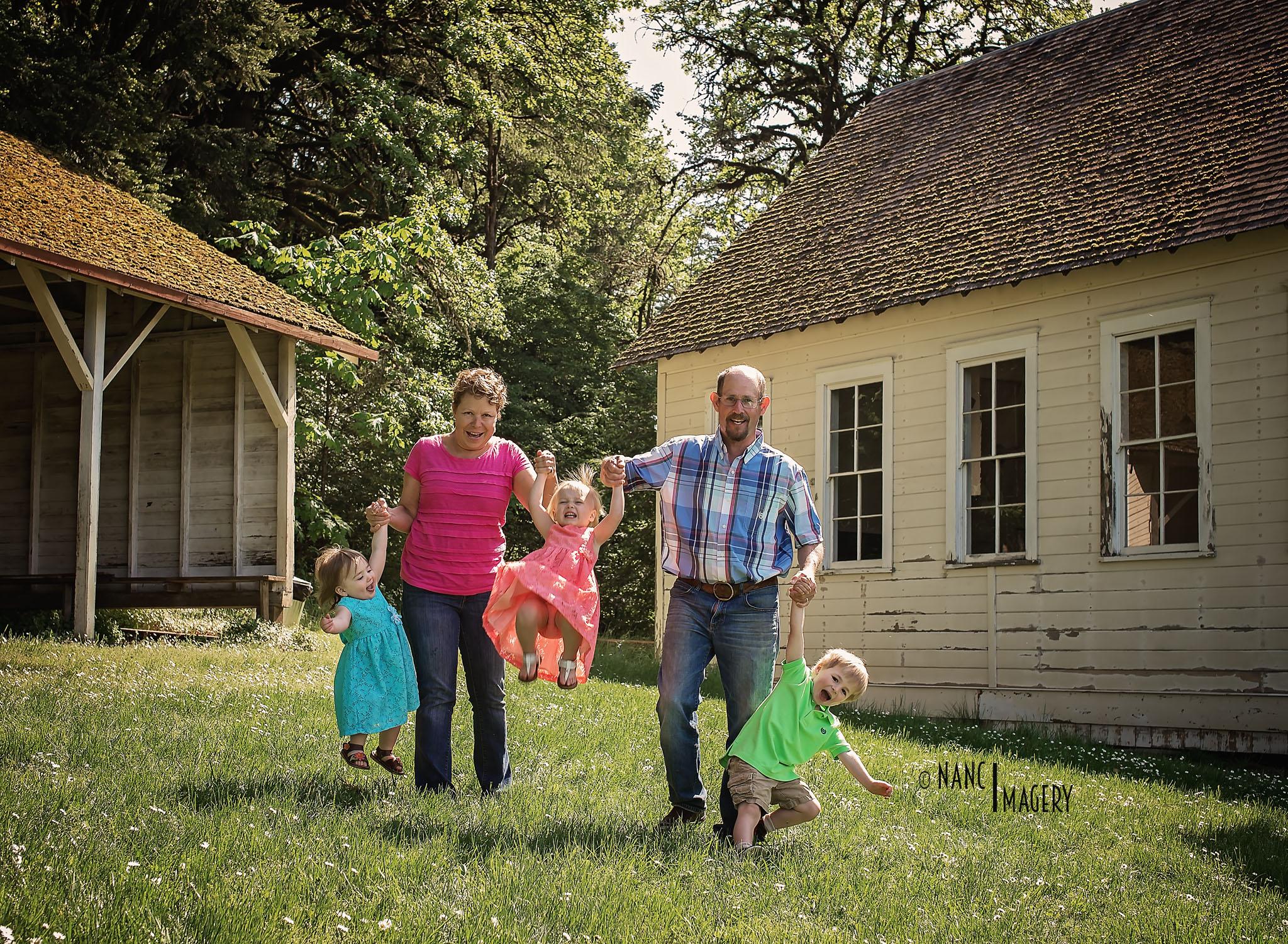 Nanci Imagery, Newberg Photographer, Family Portraits