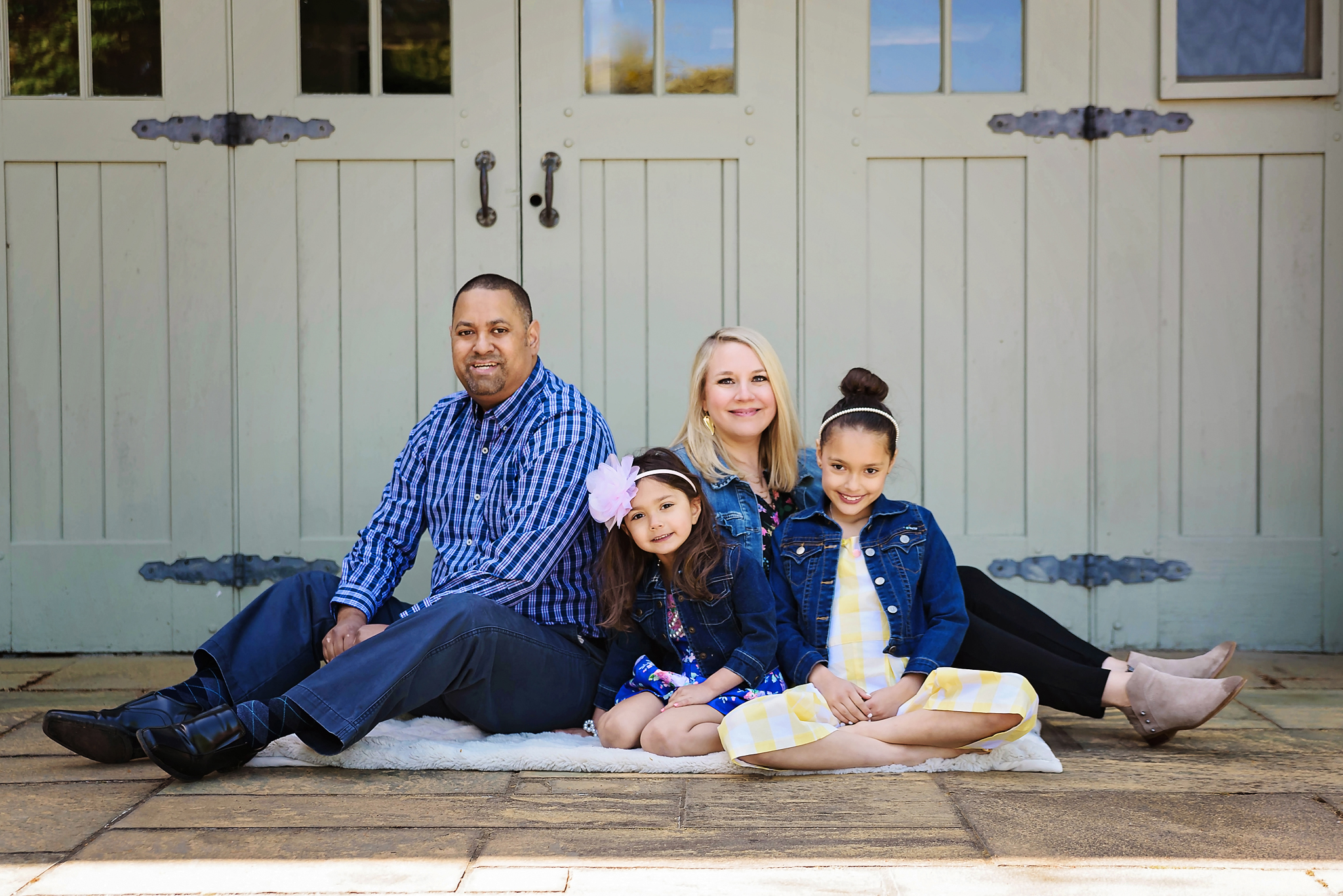 Portland Oregon Spring Family Portrait