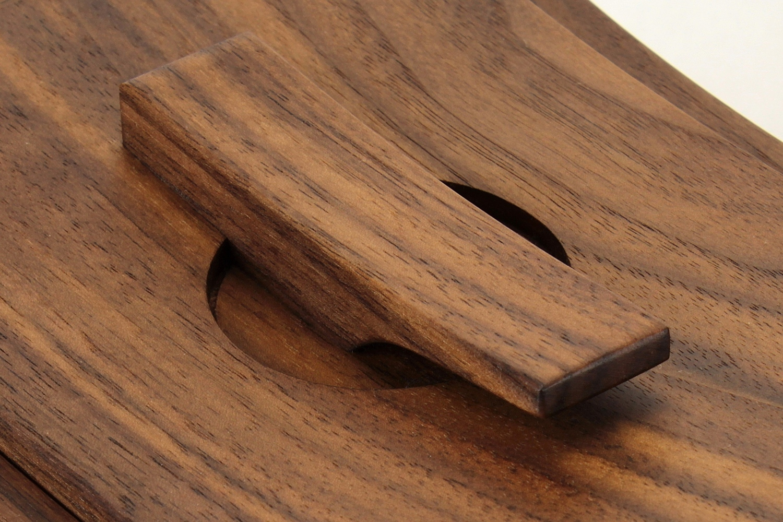 black walnut handle