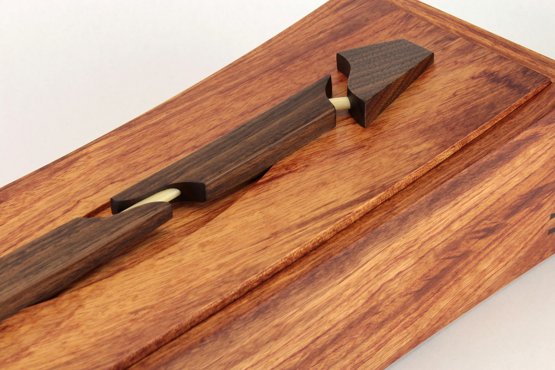 19 x 6 x 4.5 custom box for antique dagger