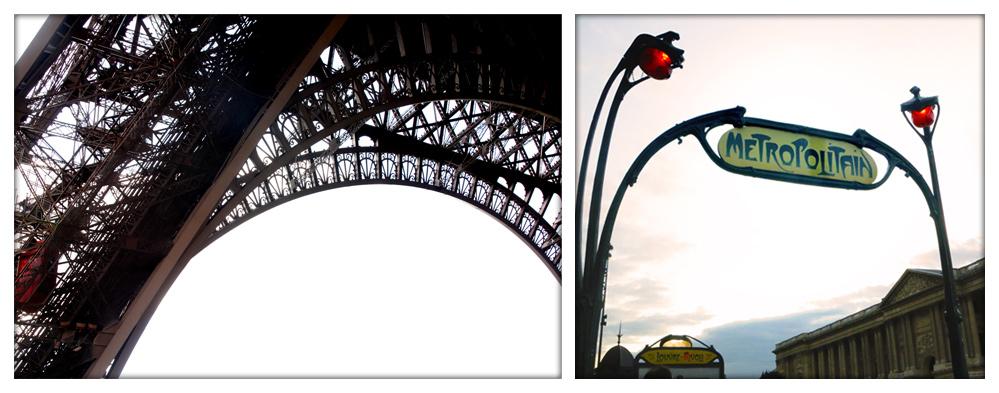 Eiffel + Metro