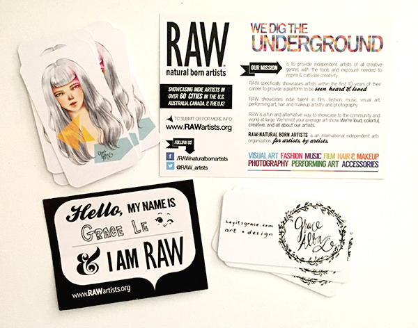 I'm Grace and I'm a RAW Artist! ;)