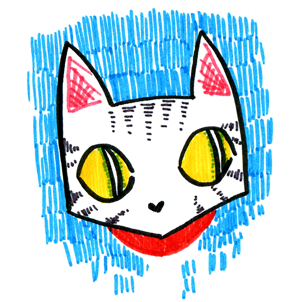 This is just a placeholder cat.  Submission sneak peeks to come!