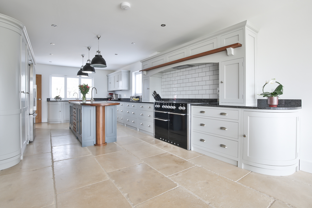 Open plan Cotswold kitchen photography