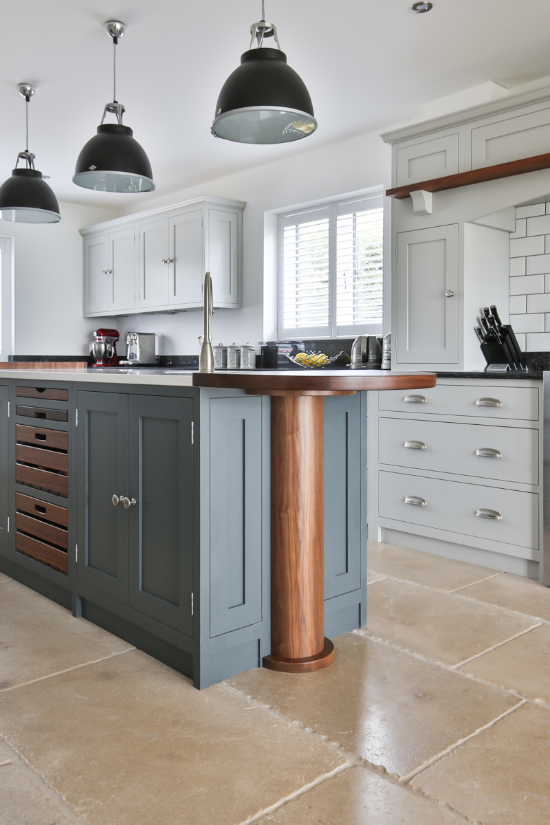 Evie Willow kitchen cabinets
