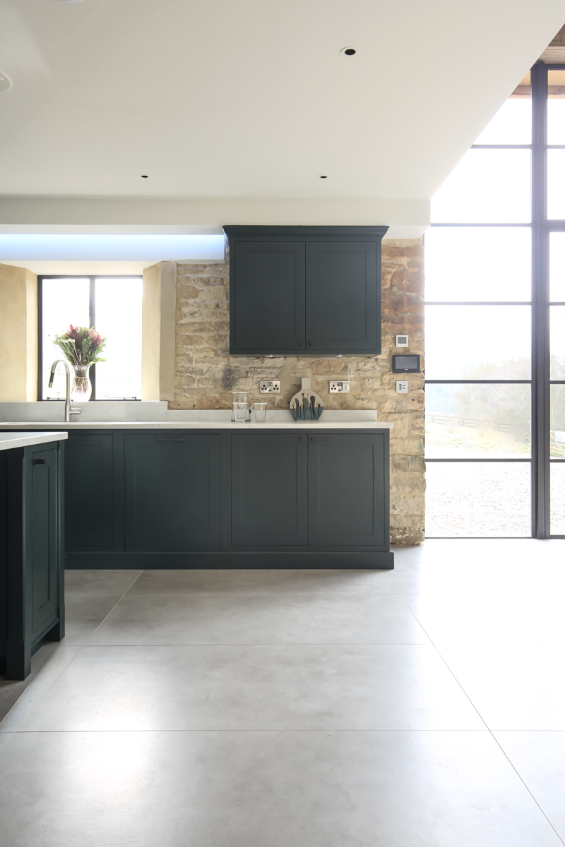 Interior photography of Cotswold barn conversion