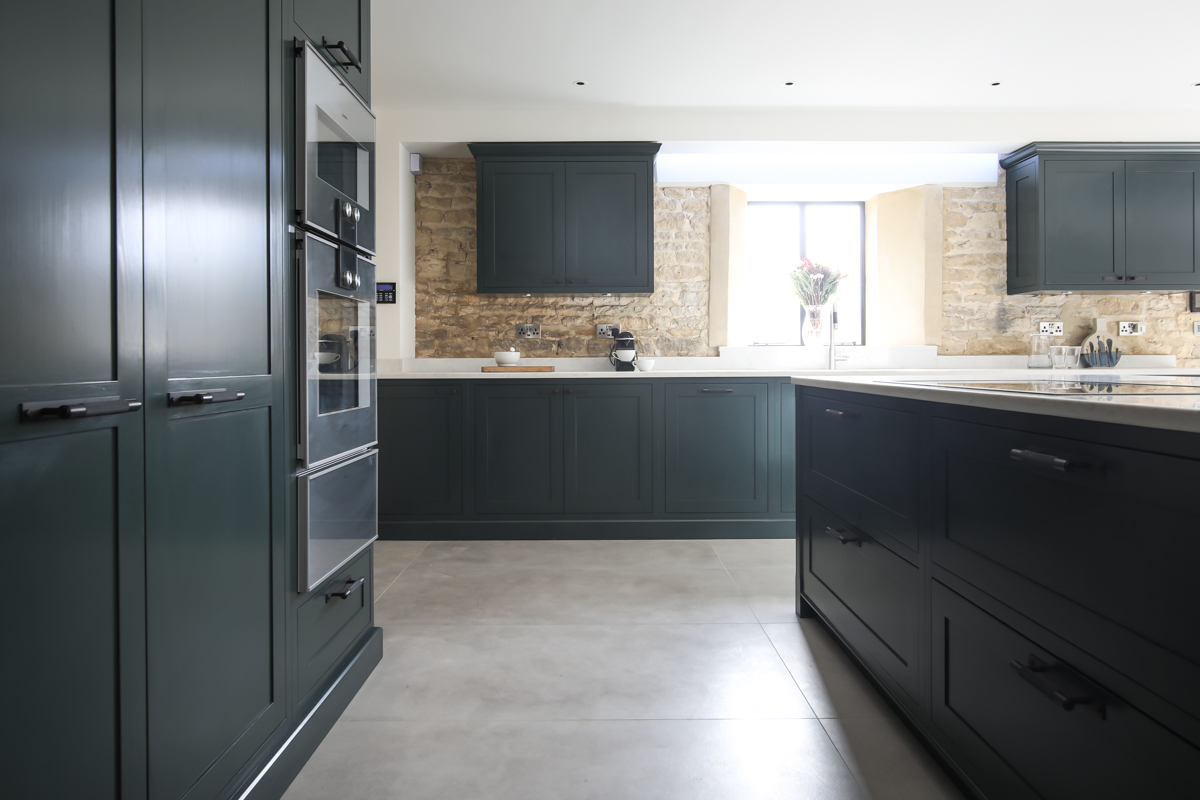 Kitchen photography of Evie Willow kitchen in barn conversion