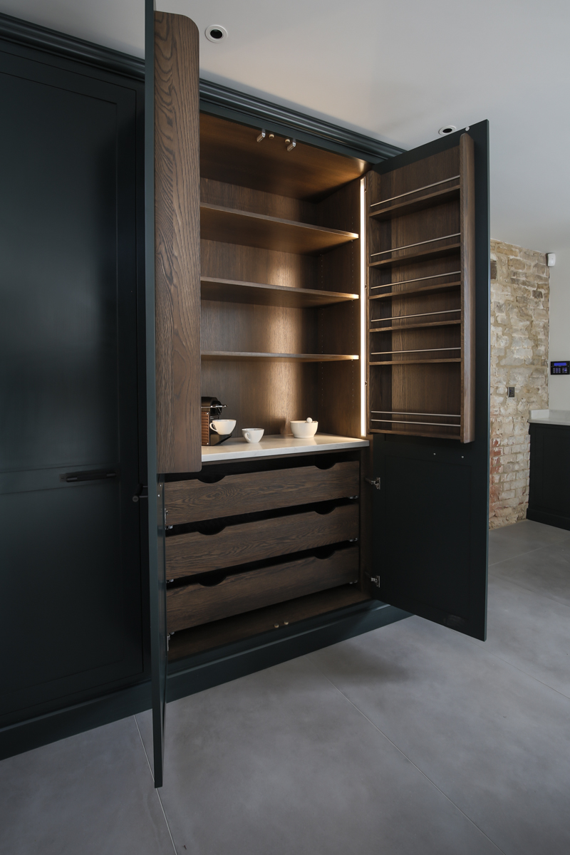 Evie Willow kitchen pantry design