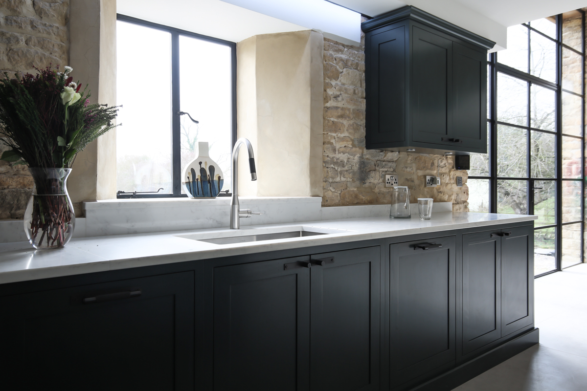 Cotswolds barn conversion kitchen photography