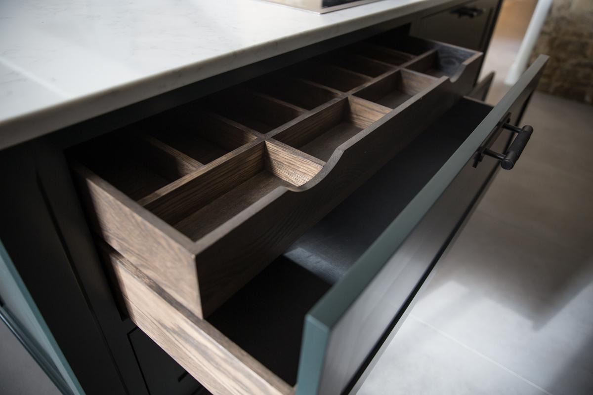 Evie Willow kitchen drawer design