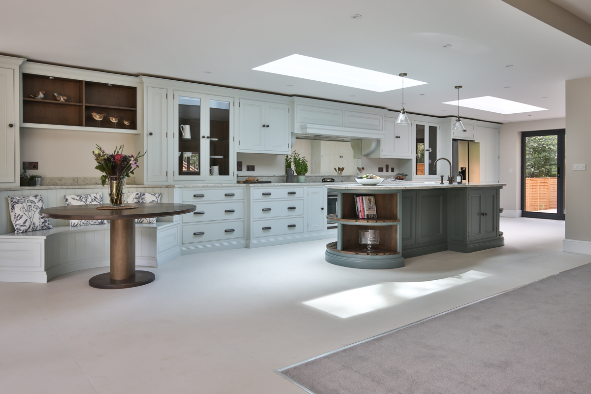 Interior kitchen photography for Evie Willow Kitchens at Dray House, Fleet.