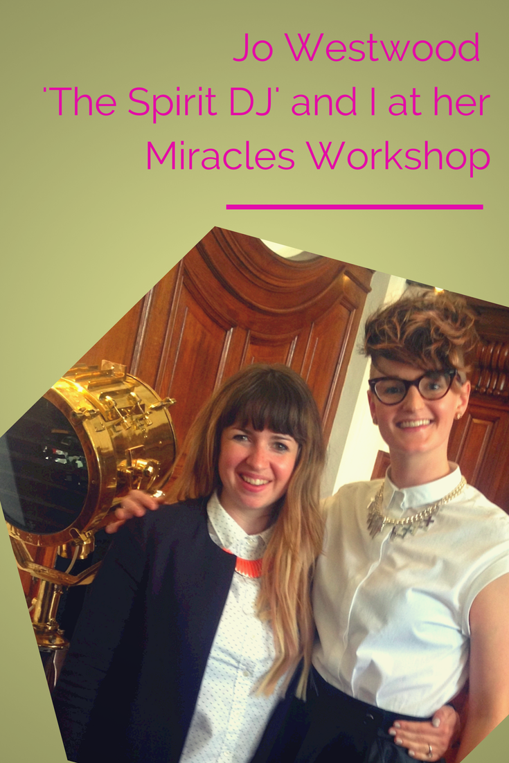 Jo Westwood and Lucy from Proof Coaching at the Miracles event