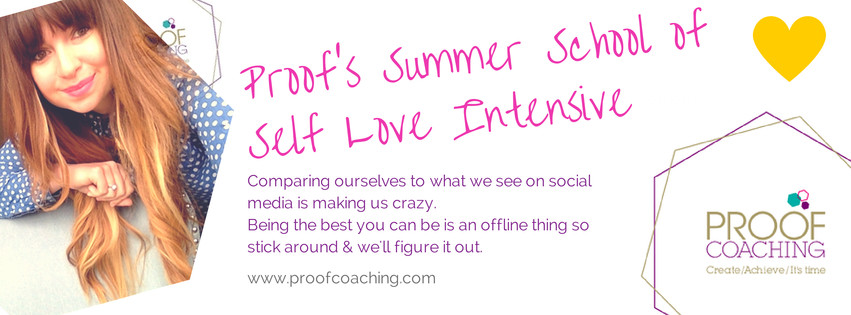 Proof Coaching blog post about jo westwood addictive daughter and Gabby Bernstein Life Coaching teaching and events