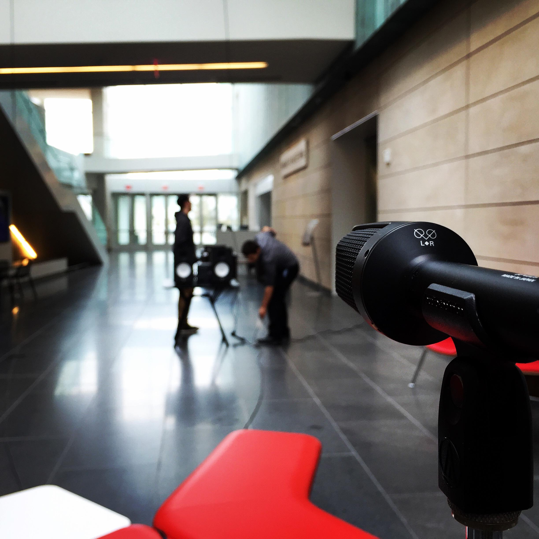 IR Recording at the Columbus Museum of Art