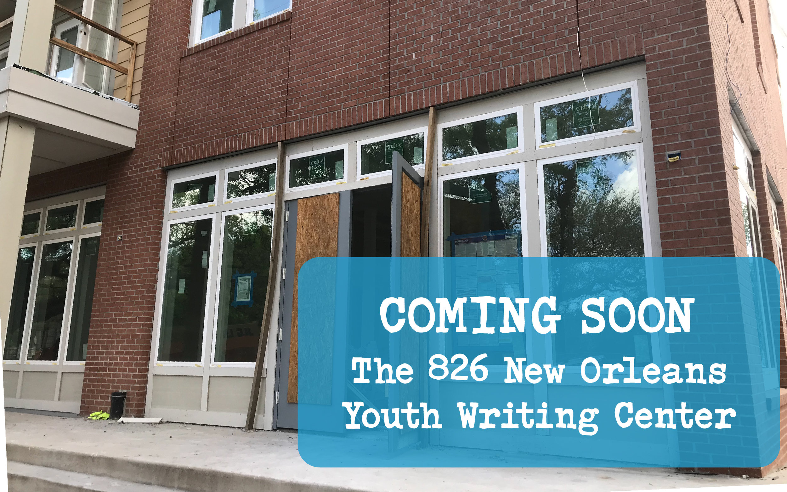 826 New Orleans Youth Writing Center