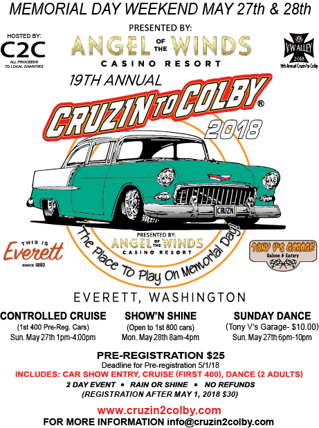 2018 Cruizin' To Colby