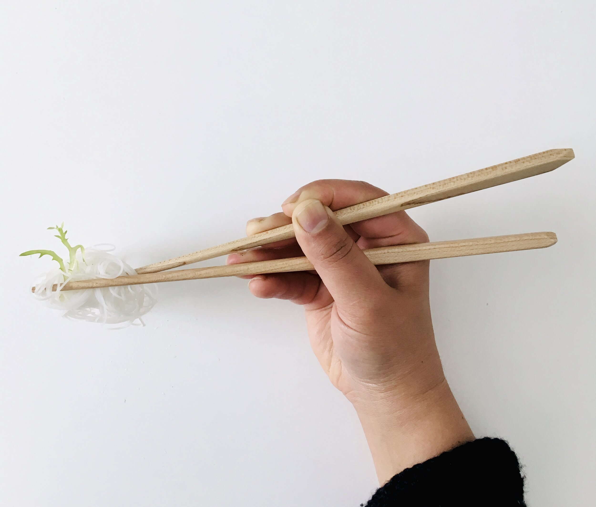 The best chopsticks you'll ever use.  - Go zero-waste with style.