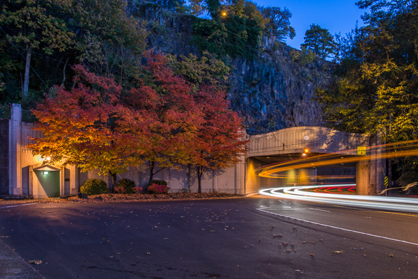 """Downtown Tunnel at Nightfall"" - Fall 2013"