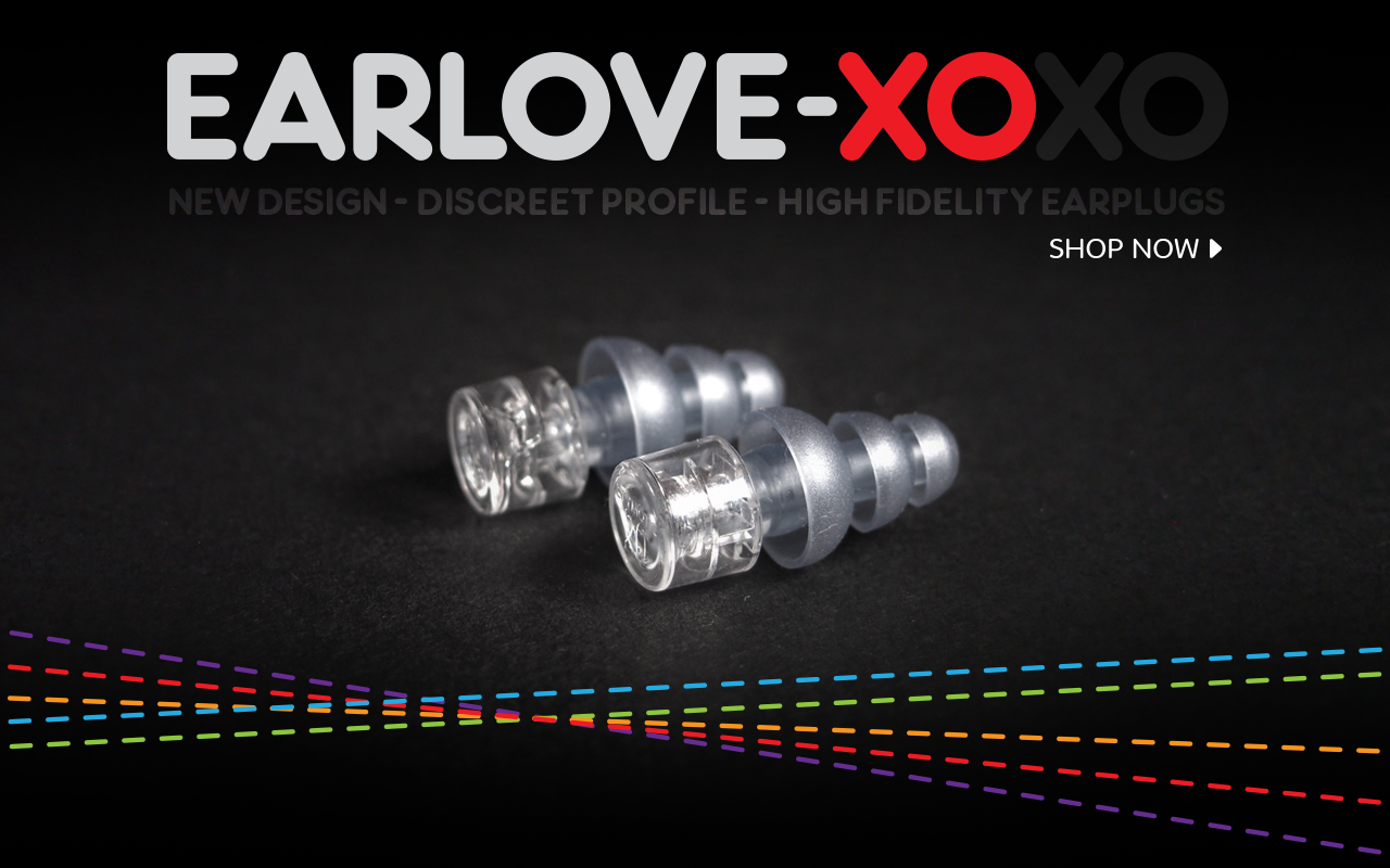 Earlove XO, earplugs for music.