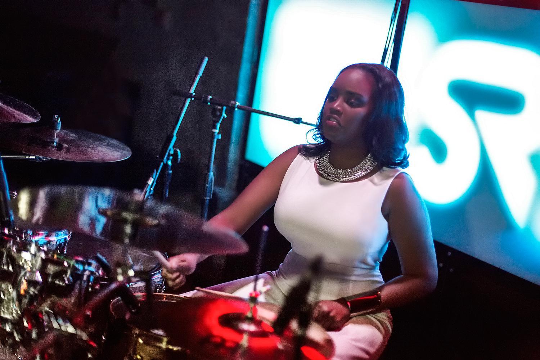 Glorious, Livetronica Drummer Pop-R&B Singer, Live at Sullivan Room, New York City 16.jpg
