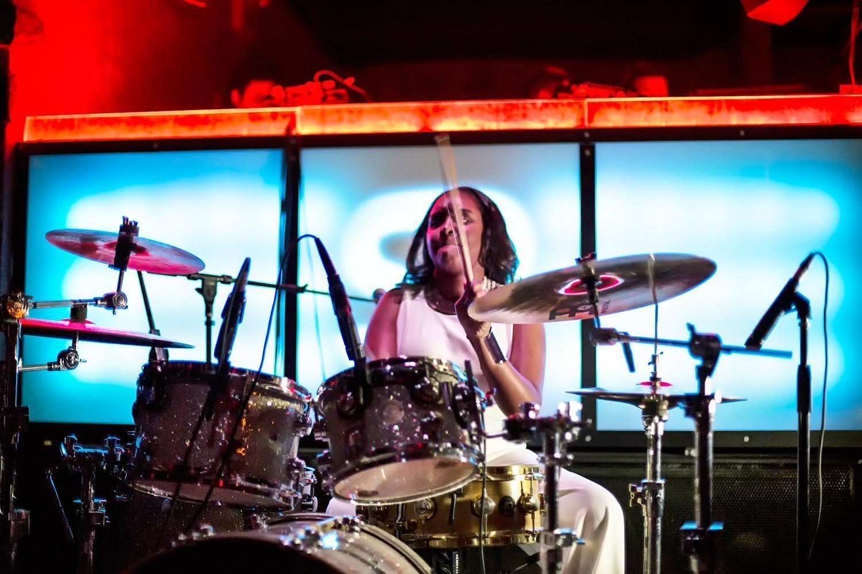 Glorious, Livetronica Drummer Pop-R&B Singer, Live at Sullivan Room, New York City 14.jpg