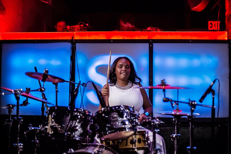 Glorious, Livetronica Drummer Pop-R&B Vocalist, Live at Sullivan Room, New York City 26.jpg
