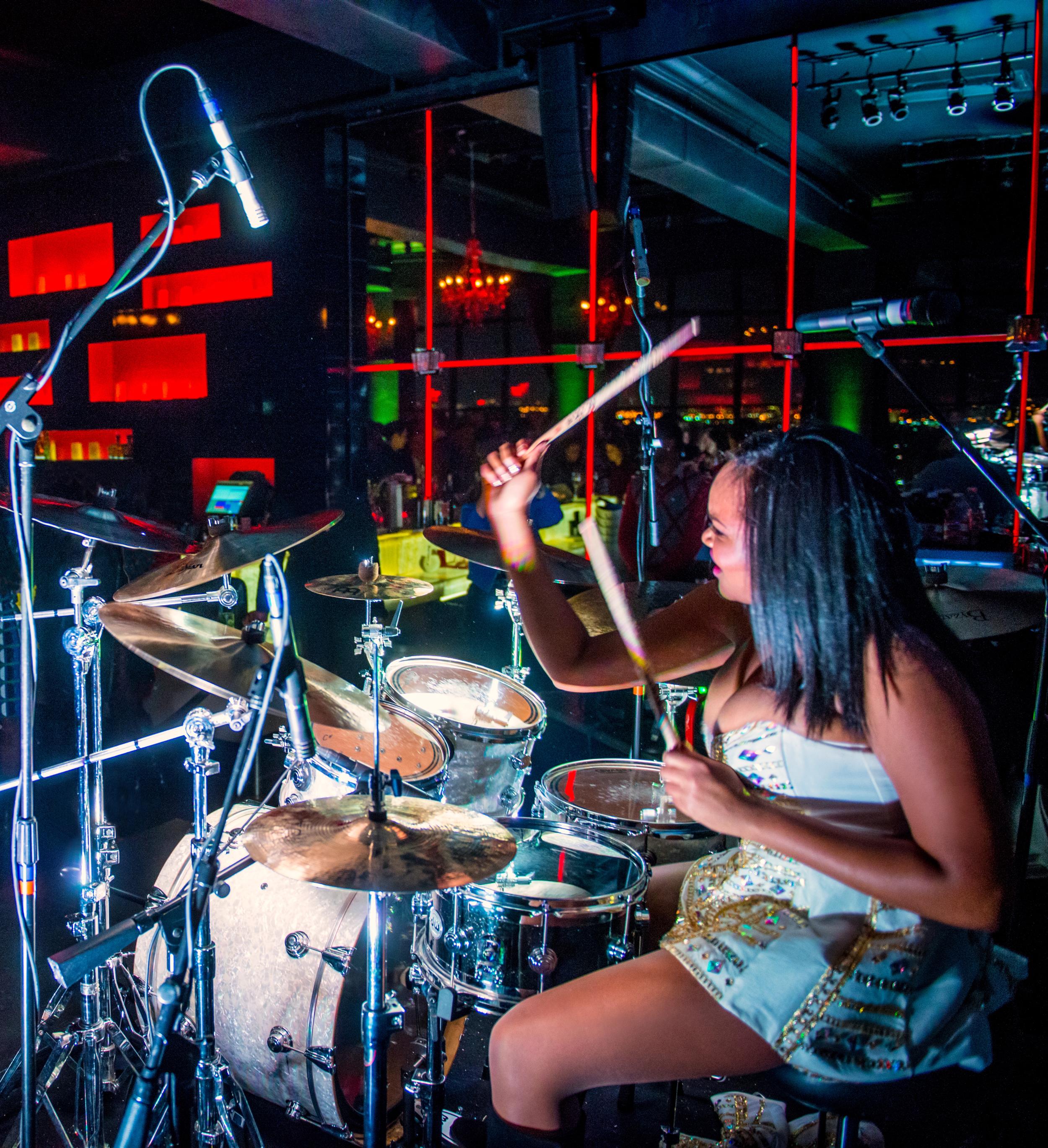 Glorious, Livetronica Drummer, Pop-R&B Singer, Producer, Live at W Washington, POV 7.jpg