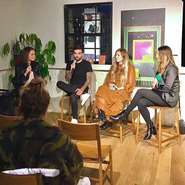 Last week's panel @showfields — 🎤🌿🍴 talking all about plant-based nutrition | 📷: @tbdestination