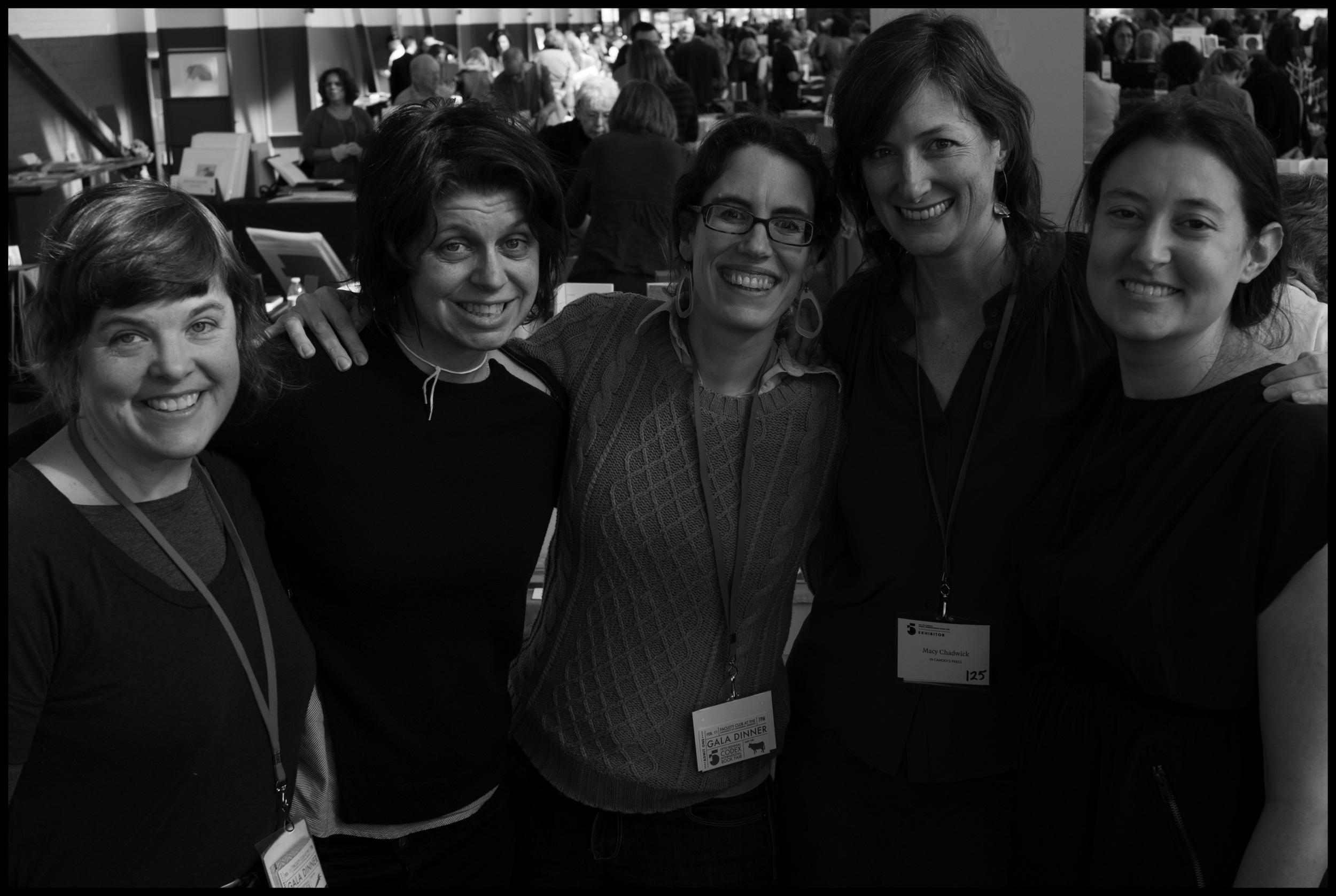 Katie Baldwin, Tricia Treacy, Sarah Bryant, Macy Chadwick, Denise Bookwalter  (photo credit: Clifton Meador)