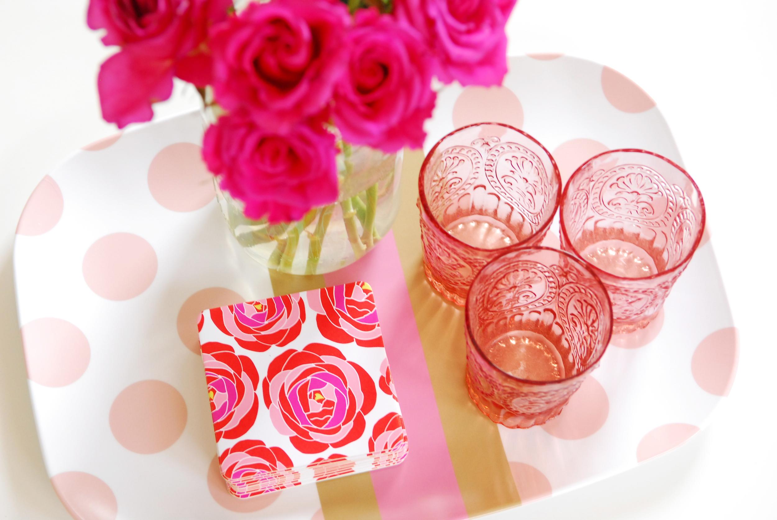 Pretty Smitten Coasters via Delighted Magazine