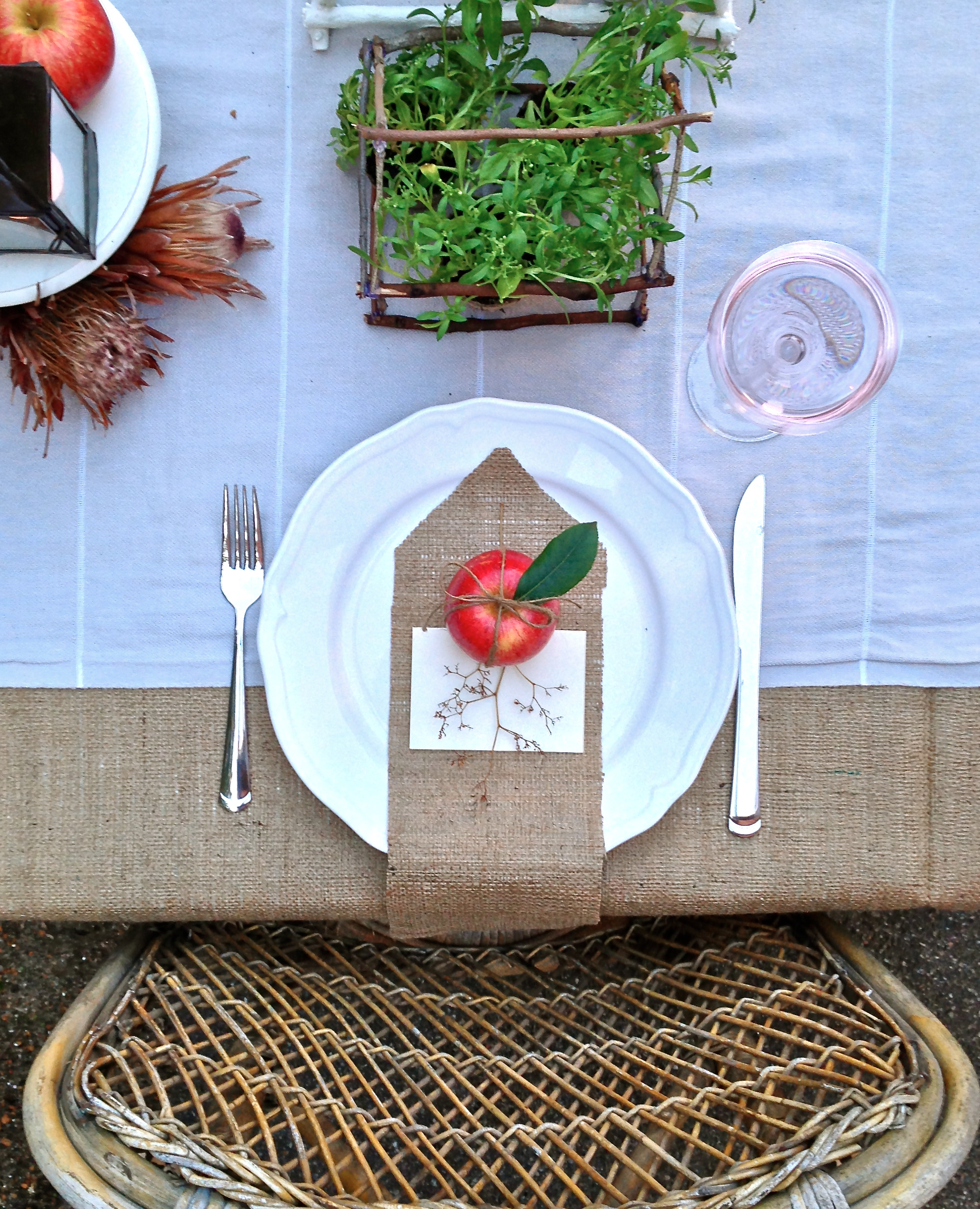 Outdoor Dinner Party via Delighted Magazine