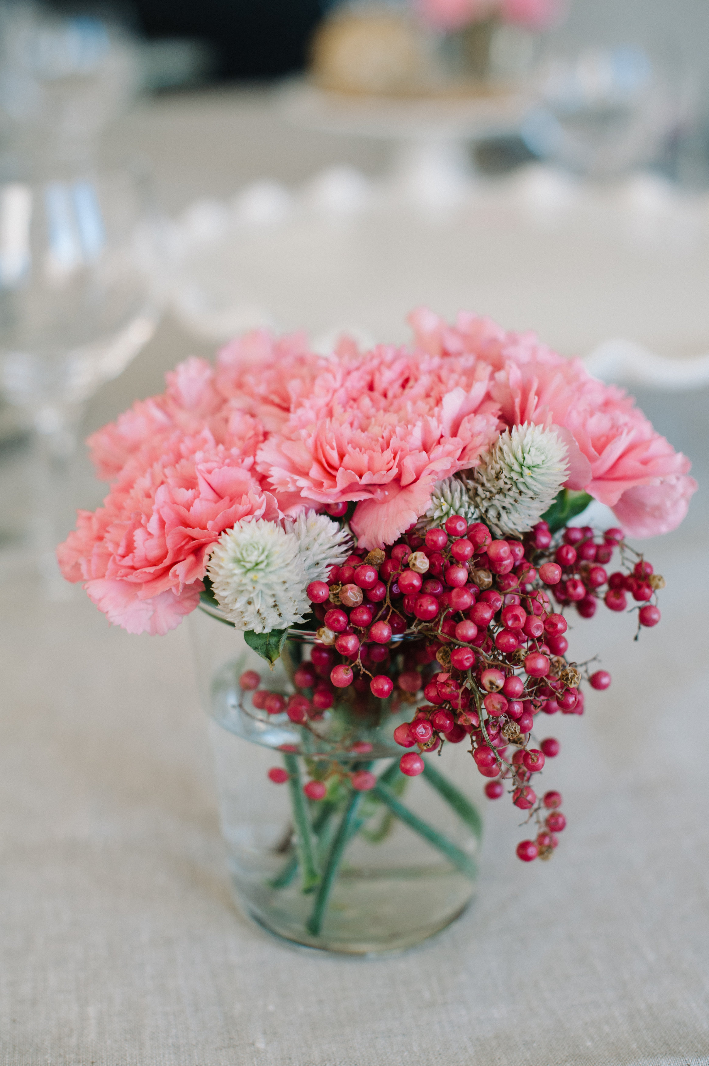 Delighted Magazine Valentine's Day Dinner #florals