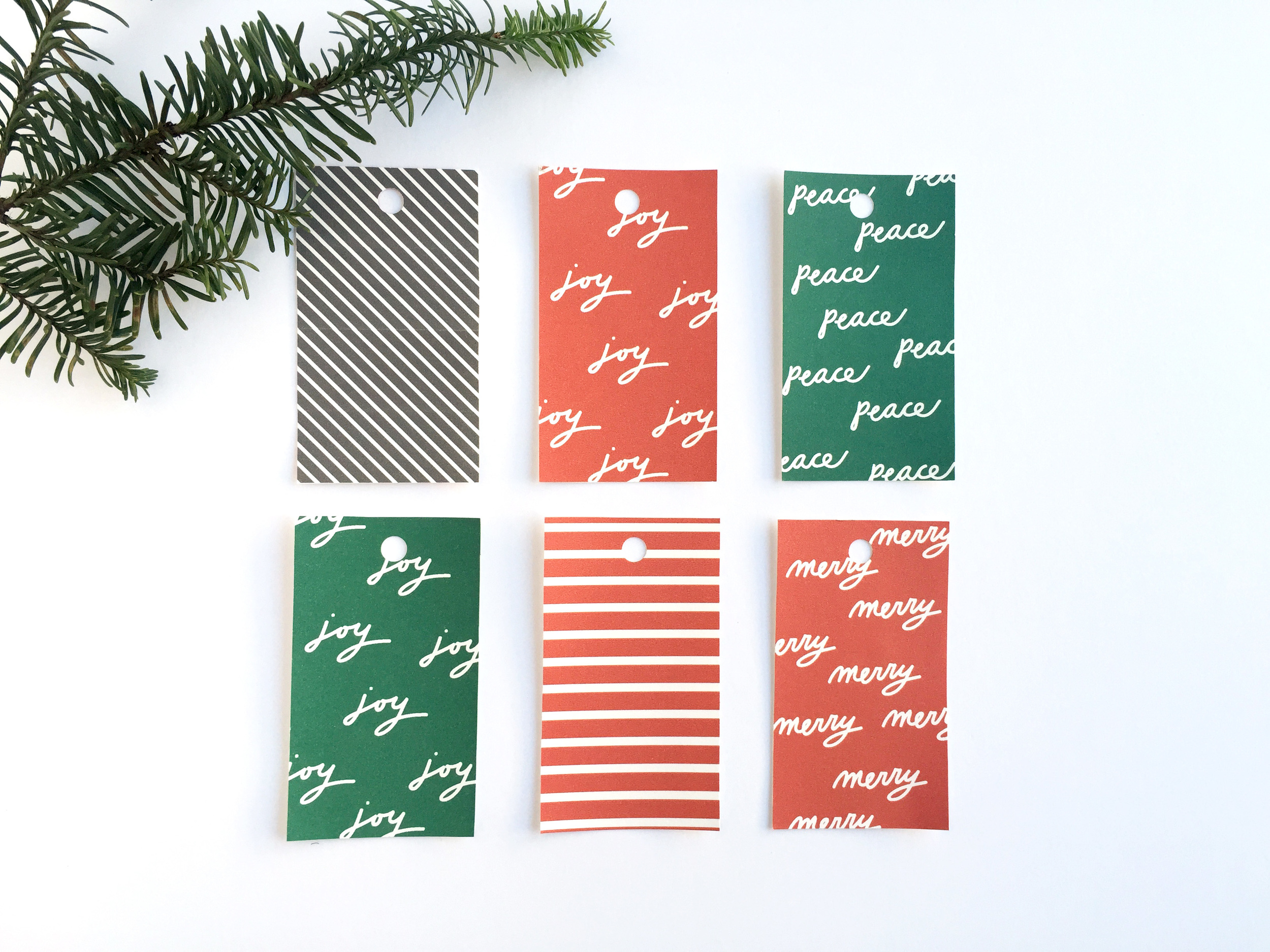 Delighted Creative Co. Gift Tag Freebies | @delightedco