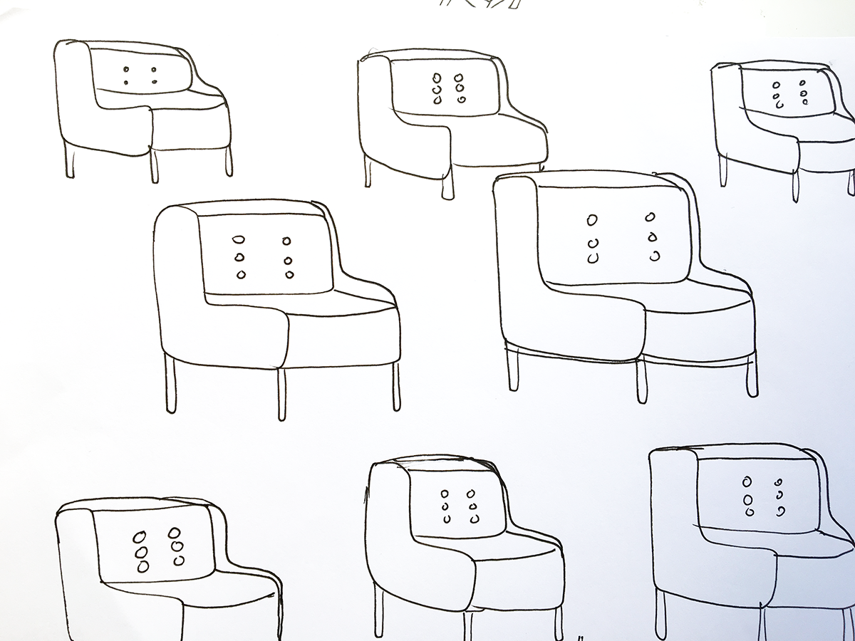 What I'm Learning: Drawing a Chair with Lisa Congdon | delightedco.com