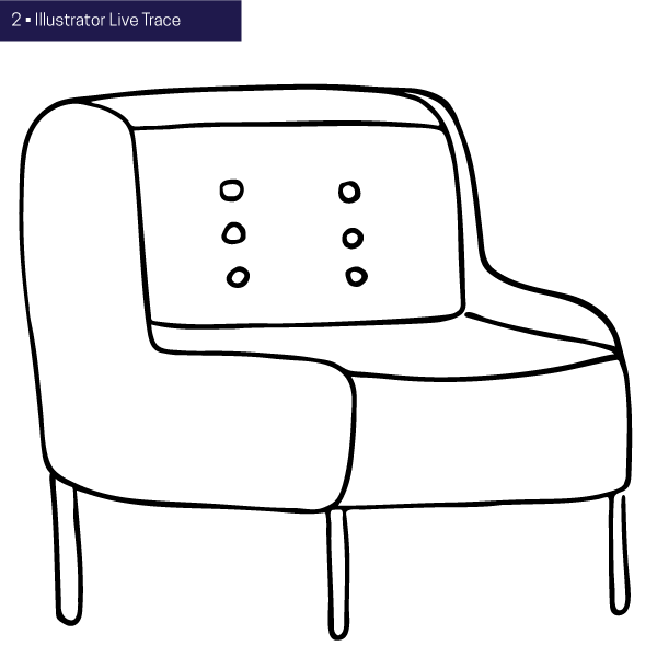 What I'm Learning: Drawing a Chair with Lisa Congdon • delightedco.com