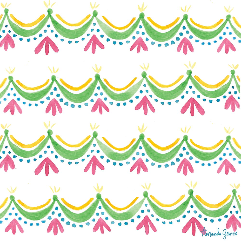 Surface Pattern ©Amanda Gomes • delightedco.com