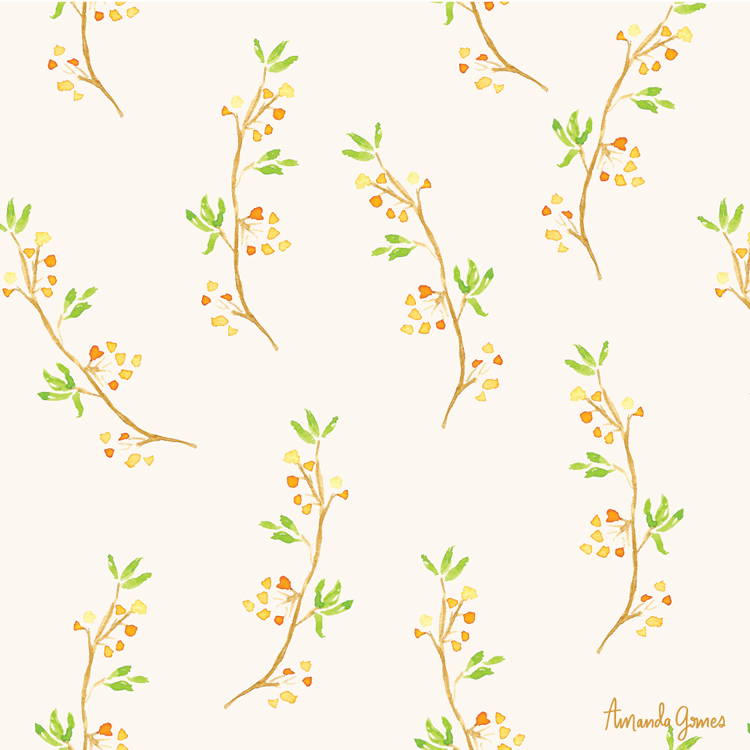 ©Amanda Gomes • surface pattern design • delightedco.com