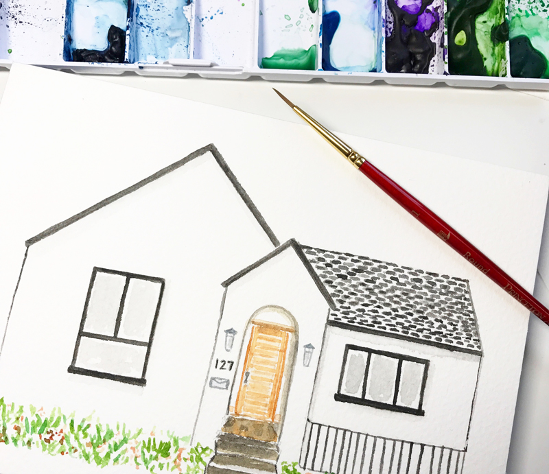 Amanda Gomes Illustration • Custom House Portrait