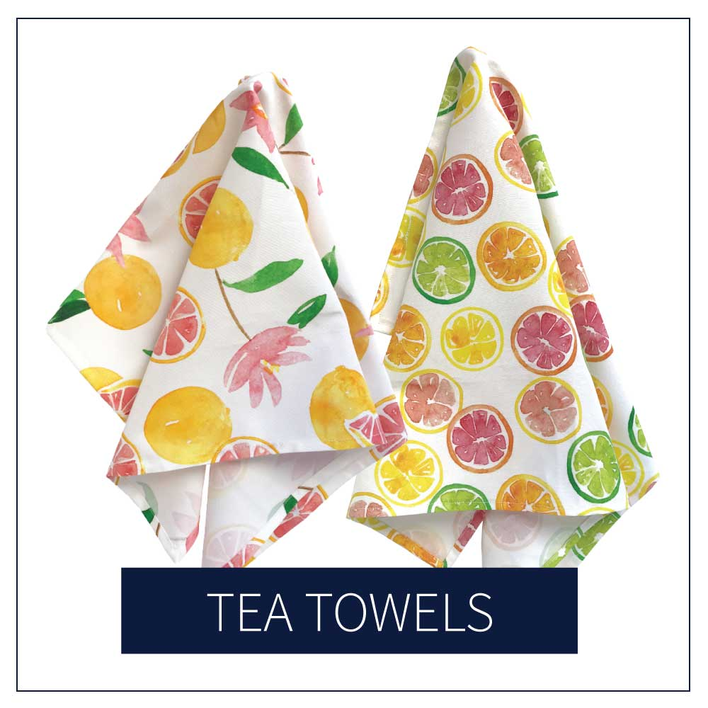 Shop Tea Towels at Amanda Gomes Design