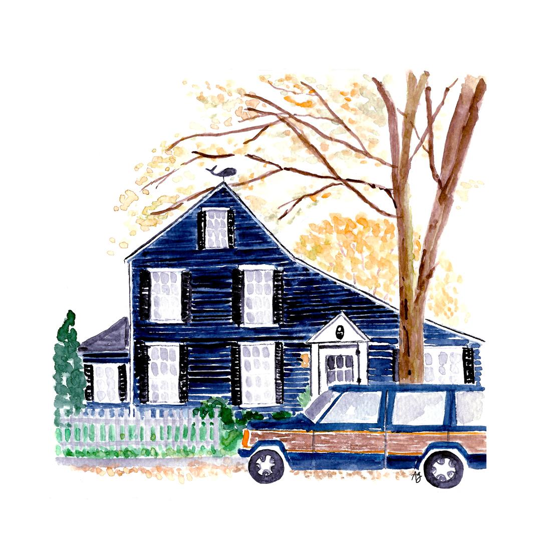 Home Illustration •original photo by Jackie Greaney • amandagomes.com