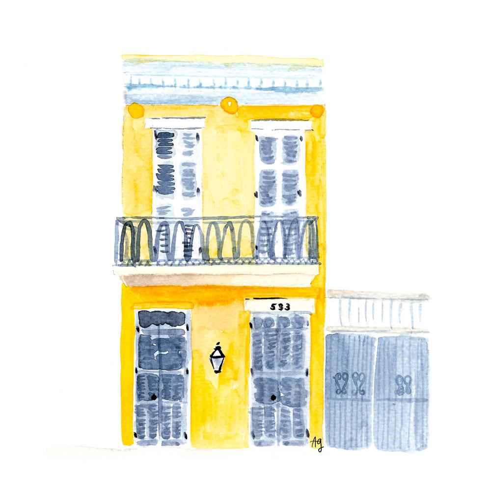 Watercolor Illustration ©Amanda Gomes • surface designer + watercolor artist • amandagomes.com