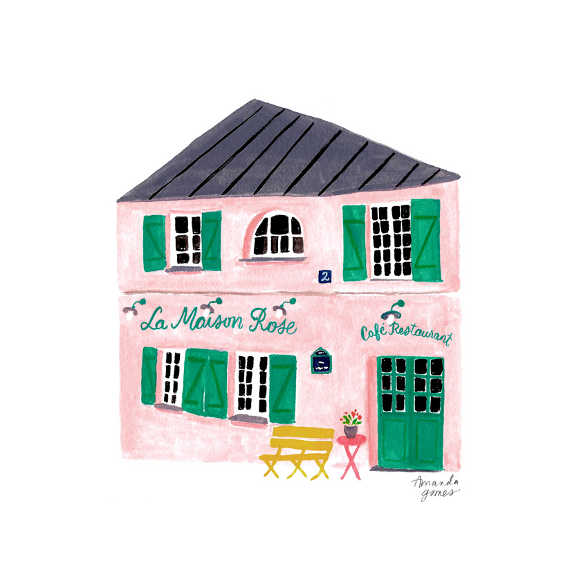 Amanda Gomes Gouache Illustration • amandagomes.com