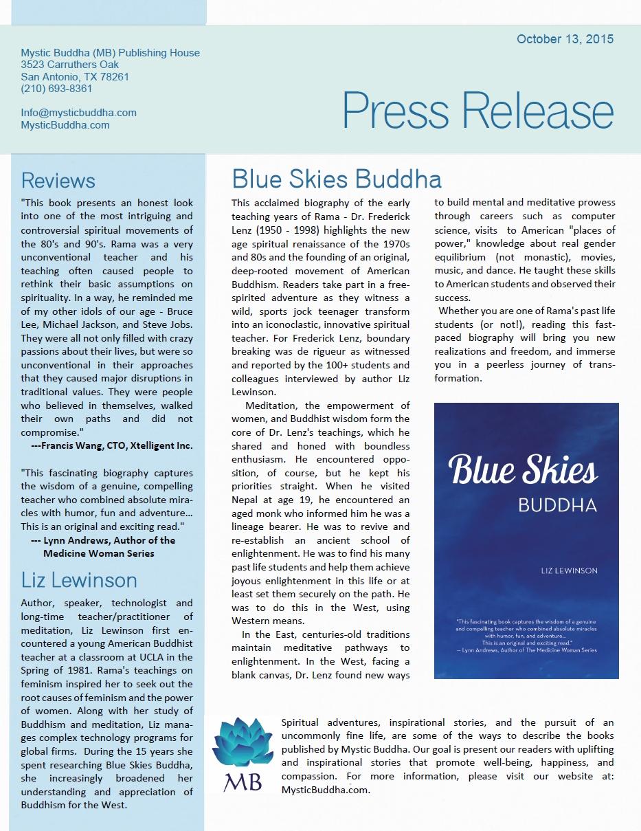 october 13 press release