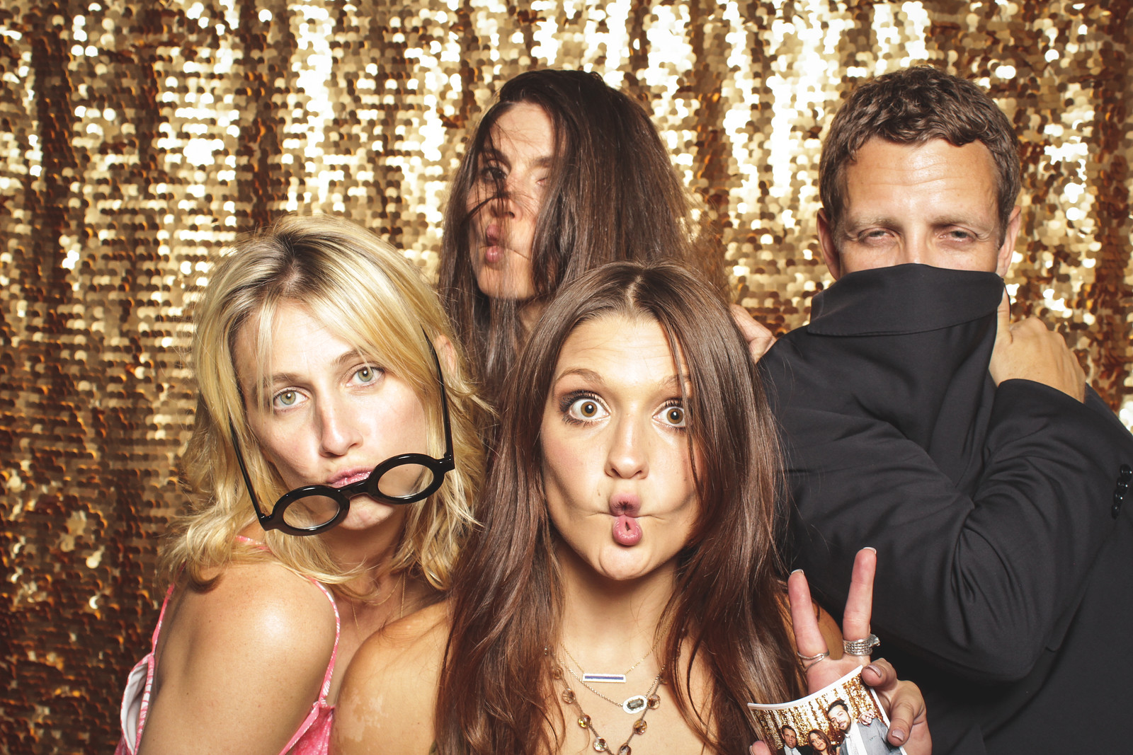We come in peace. Your photo booth should match the needs of your event.