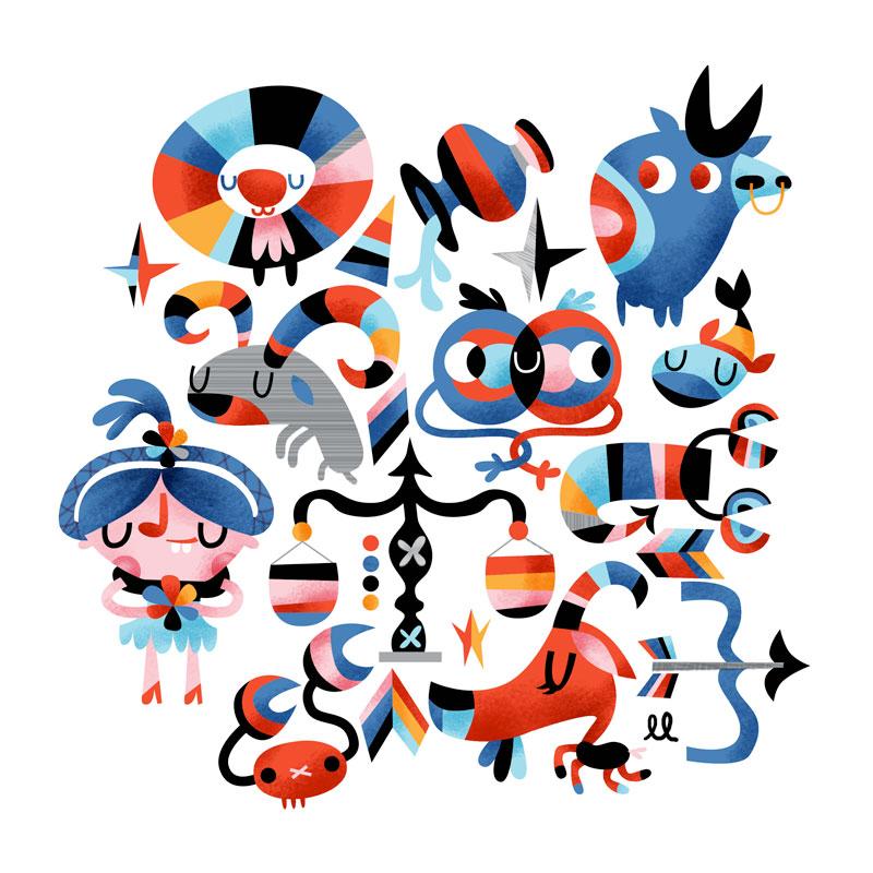 Illustration Firday -Zodiac