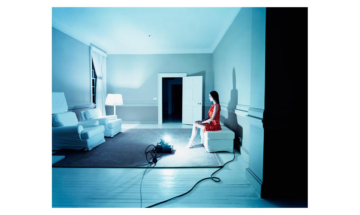 Blue room red girl.jpg