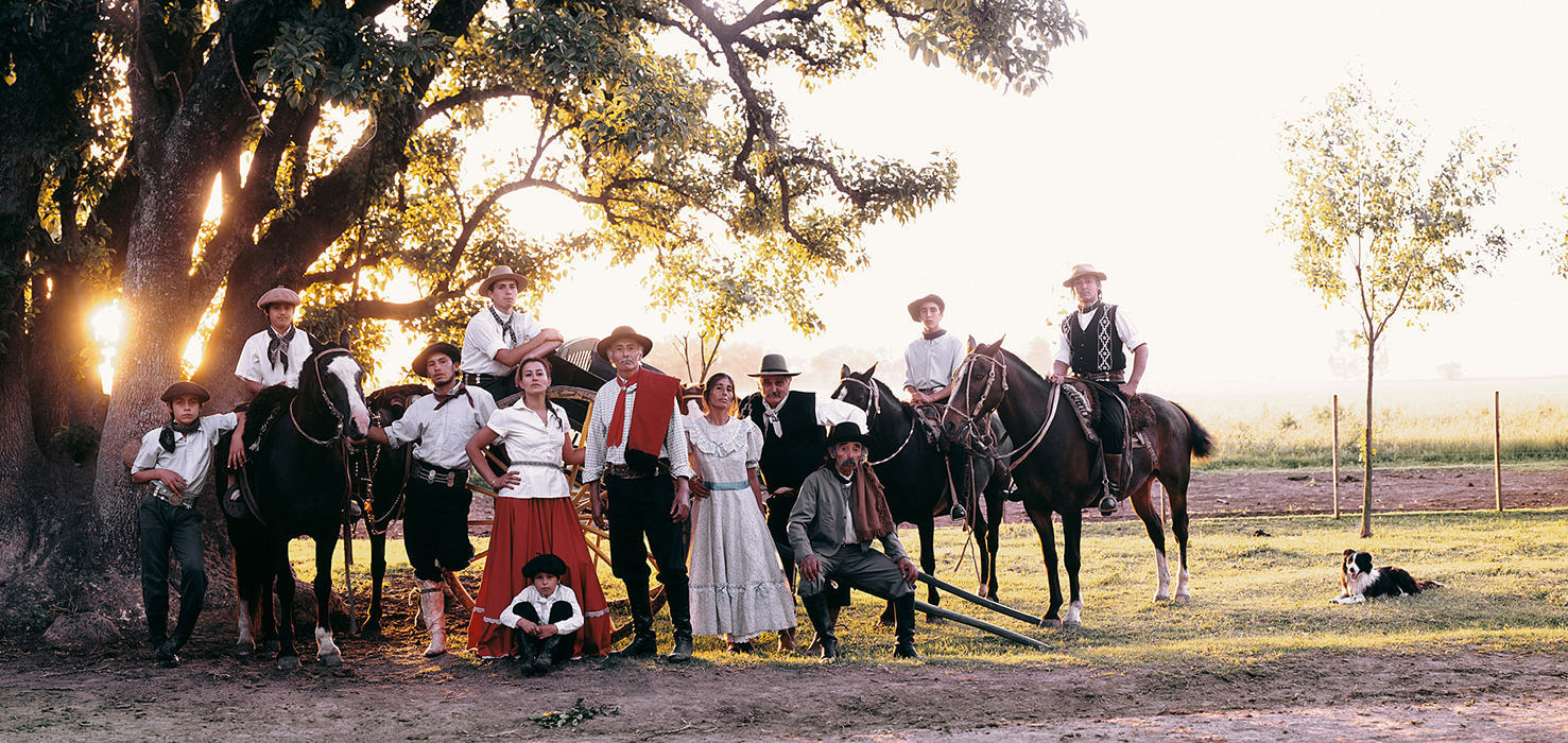 """ Every four years, the few remaining Gaucho families come together in the Pampas and essentially have a weekend-long picnic... There's tango music playing and there are barbeques everywhere.  """