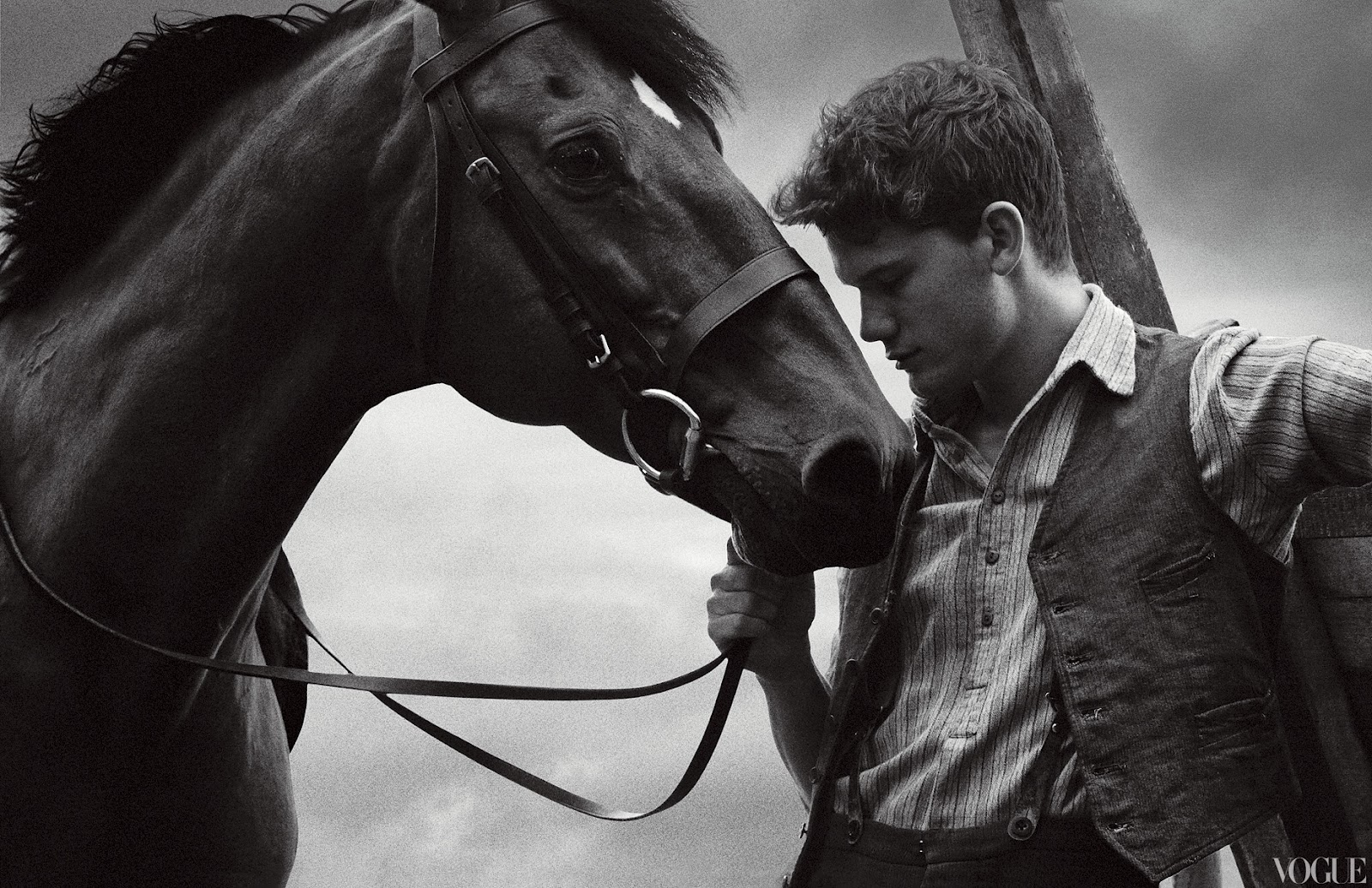 "Jeremy Irvine, star of ""War Horse"""