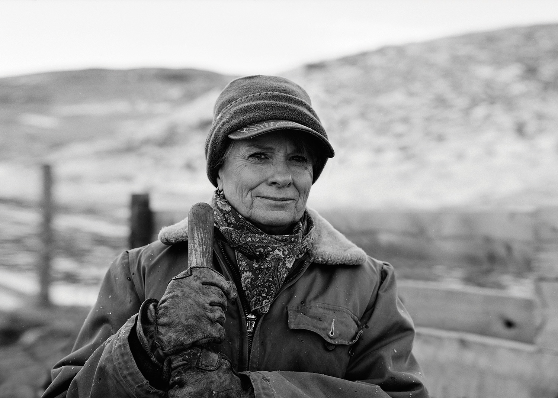 Photographer: Kurt Markus. Portrait of Mary Roberts.