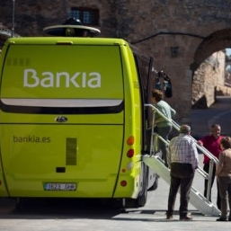 """Following the financial crisis in Europe, Spain's  Bankia  was required to close several remote branches in order to meet the terms of the EU bailout. Demonstrating candor and flexibility, they launched a mobile banking bus program to service folks most affected, explaining, """"It might only come to your town once a week, but it's all we can afford and it's better than no service."""""""